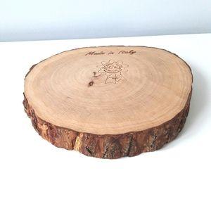 NEW natural tree bark board/riser